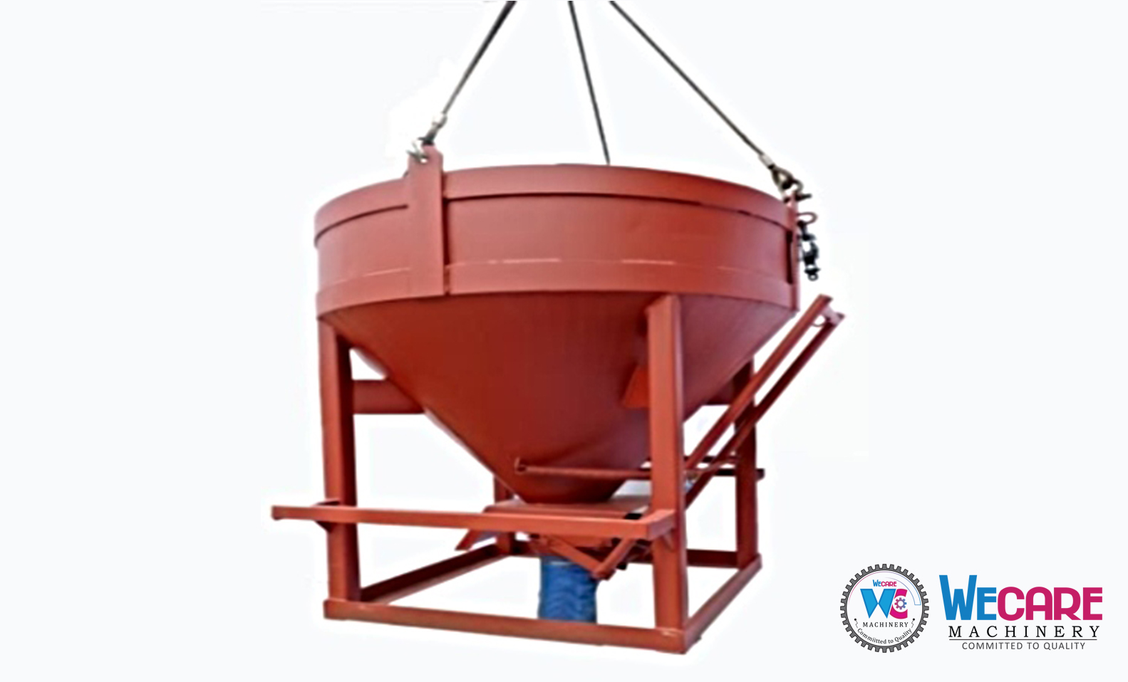 Concrete Bucket Round Type Bottom Discharge