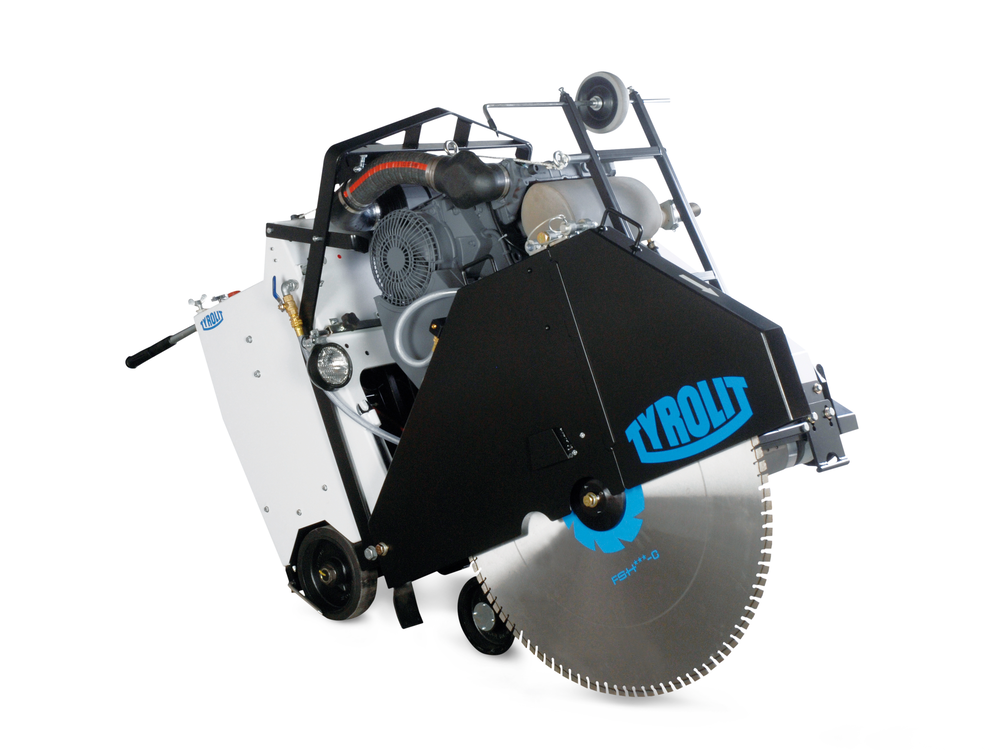 Floor saw FSD1049 3-Speeds with Cutting depth up to 430 mm TYROLIT