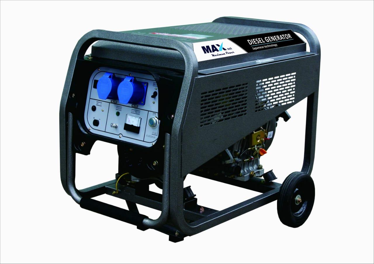 Diesel Generator 8 kva Single phase for Rent