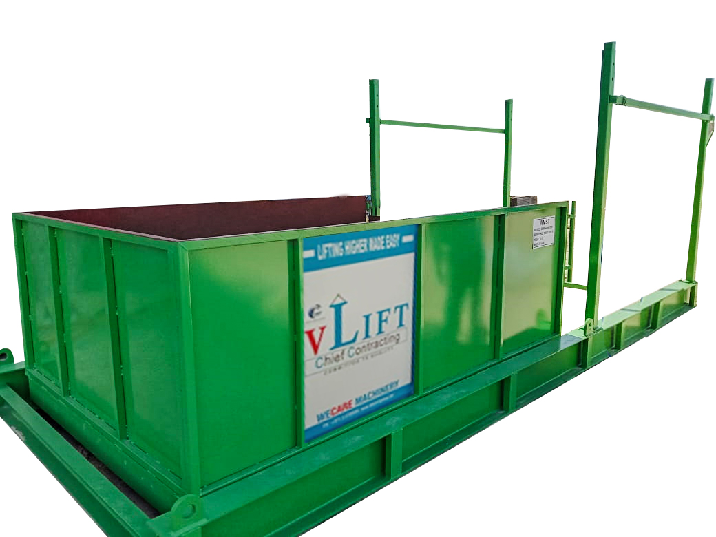 RETRACTABLE / TELESCOPIC LOADING PLATFORM