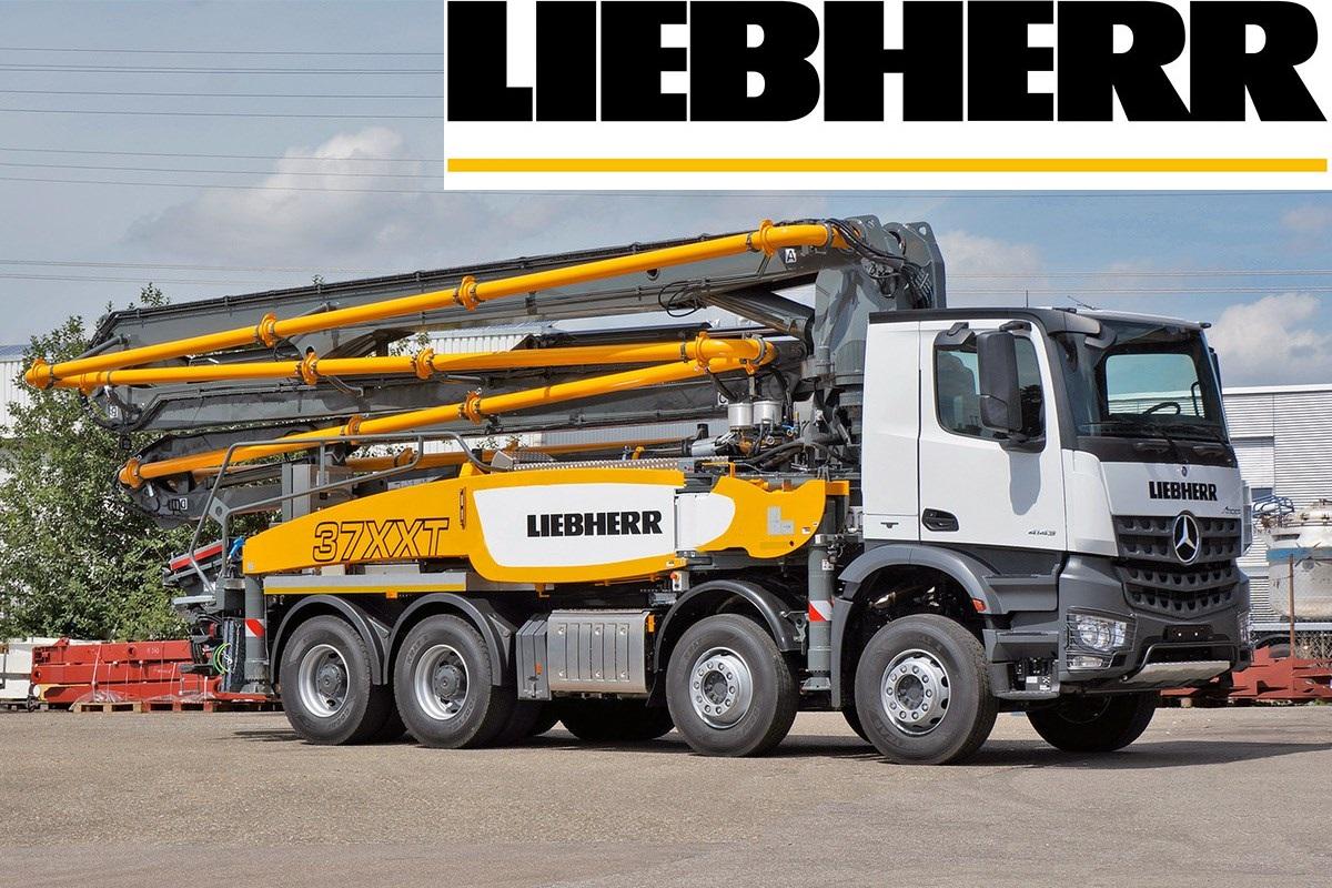 Spare Parts for Liebherr Concrete Pump