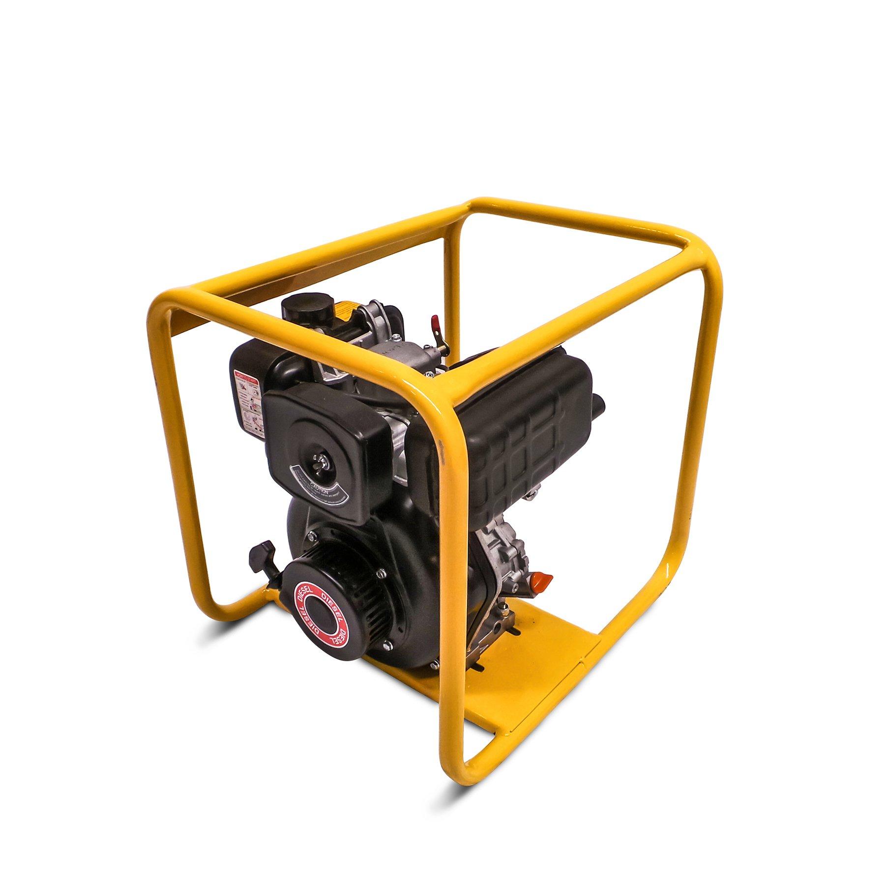 Diesel Vibrator Driven by Yanmar Diesel Engine L48N